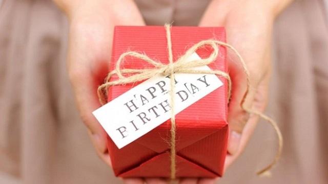 お客様への誕生日プレゼント