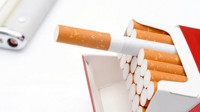 お客様に煙草をプレゼント