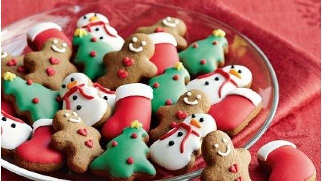 クリスマスイベント お客様へのプレゼント 手作りのお菓子