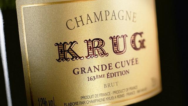 シャンパンの帝王クリュッグ