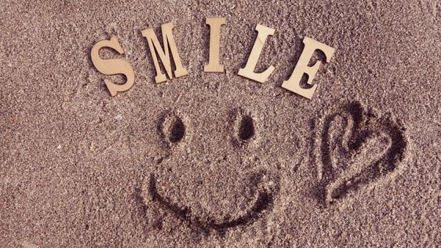 面接のポイント『笑顔』