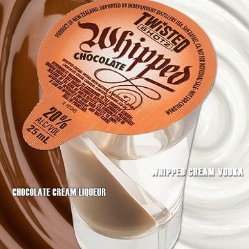 キャバ嬢さんにオススメのツイステッドショッツ ホイップチョコレート